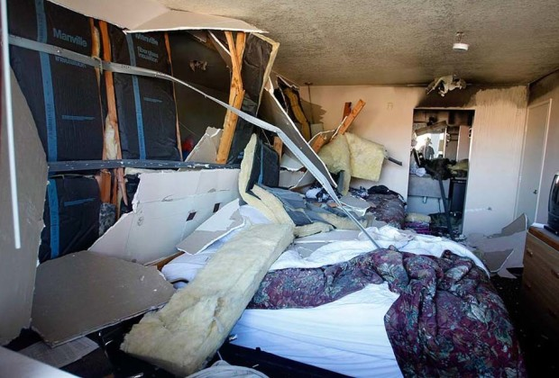 Hash oil explosion in the Heritage Motel, San Diego, CA.