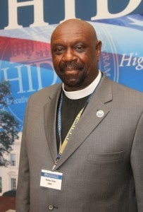 Bishop Ron Allen of the International Faith-Based Coalistion