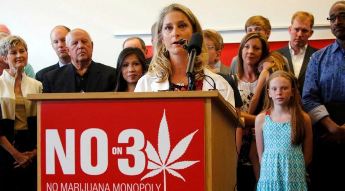Ohioans Reject Marijuana Legalization. <strong>CALM</strong> Rallying Support