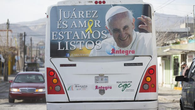 Pope Francis Speaks out Against Corruption and Drugs in Mexico