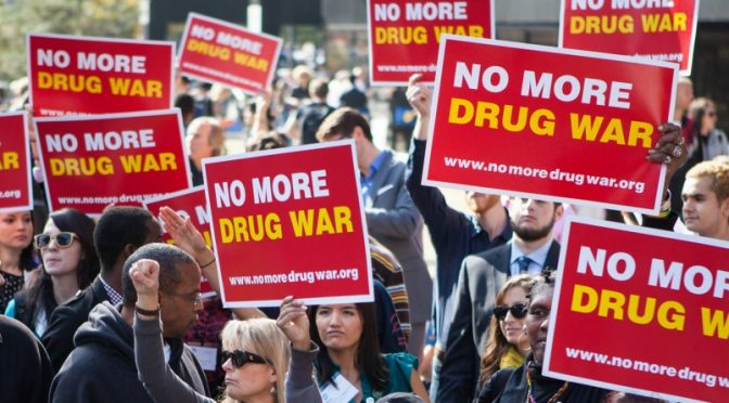 "Drug Overdoses GO up as US follows cry of ""NO MORE DRUG WAR"""