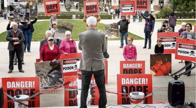 Yuba County Protests Environmental, Water Problems Sacramento