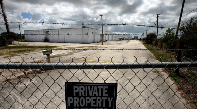 Warehouse Business Must Close Because of the Pot Growers