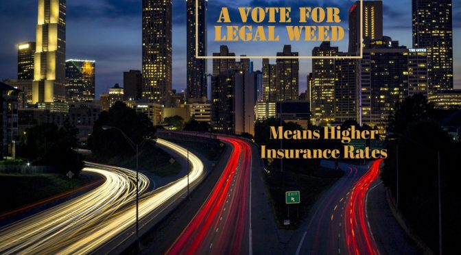 Car insurance rates to increase in states with legal marijuana