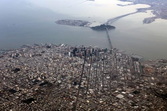 San Francisco and Los Angeles